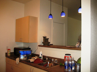 feng shlop kitchen with fountain